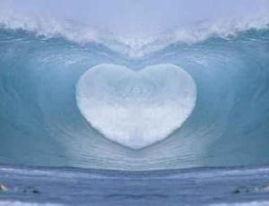 onda coração