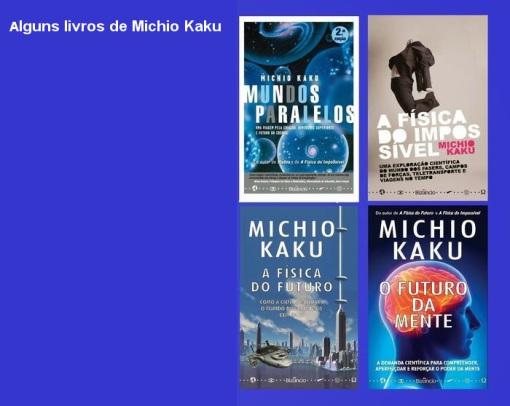 Resultado de imagem para imagens de livros do dr Kaku
