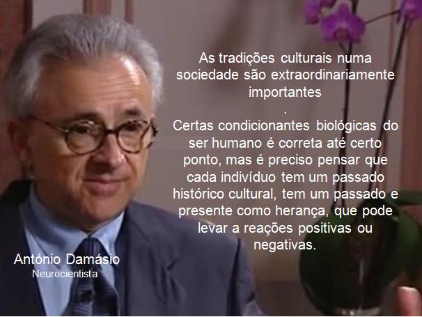 Resultado de imagem para António Damásio, o neurocientista das emoções